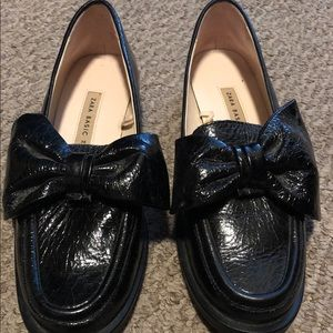 Zara loafers with Bow